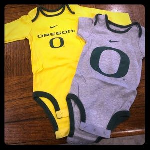 Oregon Ducks Baby Onesies